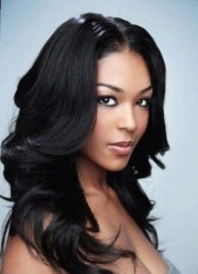of black girls long hairstyles