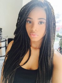 2018 Popular Long Hairstyles For Black People