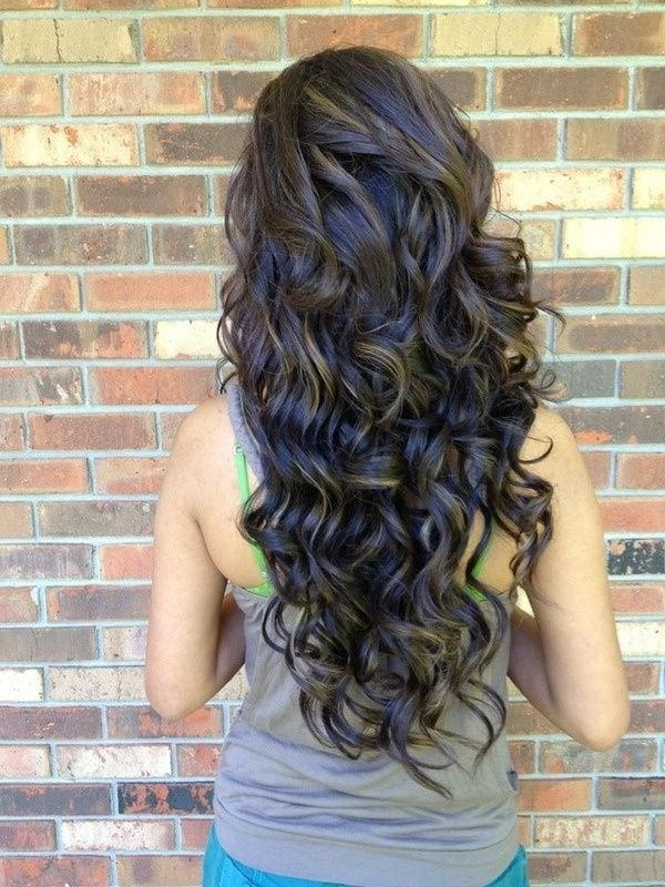 15 Inspirations Of Long Hairstyles From Behind