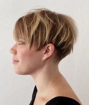 short wedge hairstyles thin
