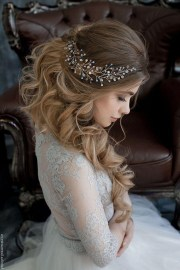 ideas of brides long hairstyles