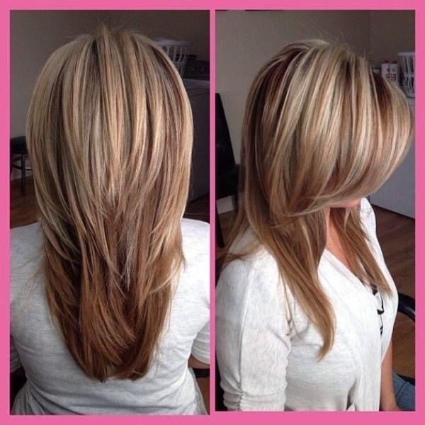30 Short Layered Hairstyles V Shape Hairstyles Ideas Walk The Falls