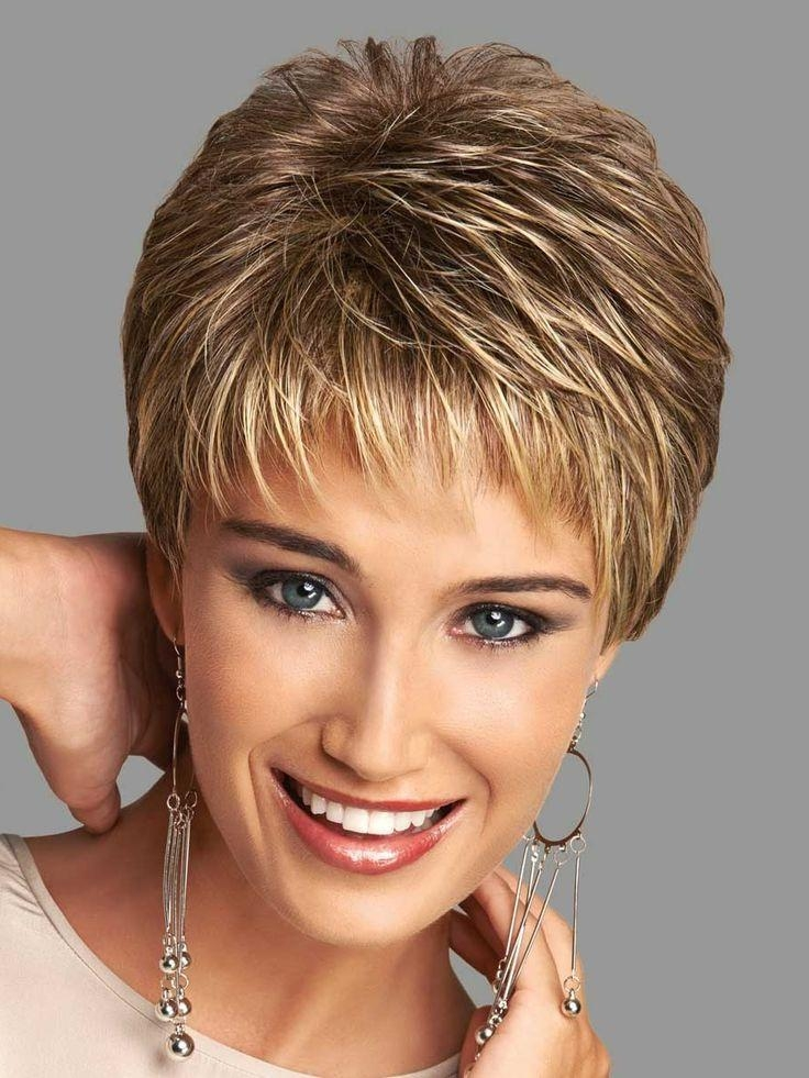 20 Best Collection of Short Hairstyles With Feathered Sides