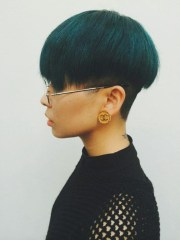 collection of short haircuts
