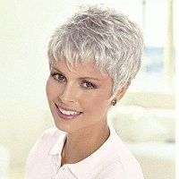 20 Collection of Short Hairstyles For Grey Hair