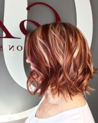 haircuts with red highlights - Haircuts Models Ideas