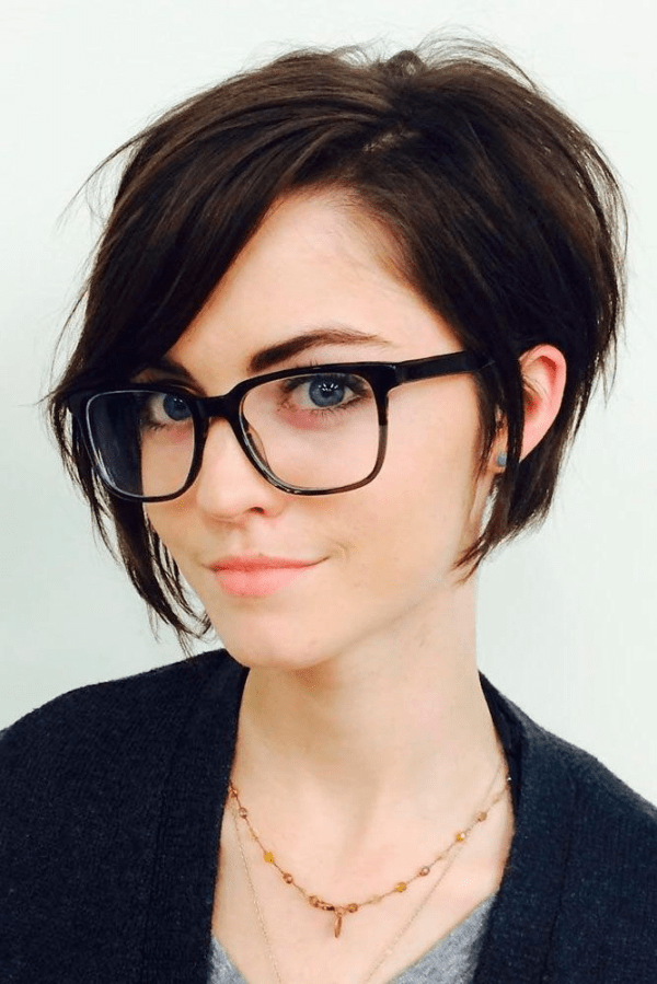 30 Asian Short Hairstyles For Round Faces Glasses Hairstyles