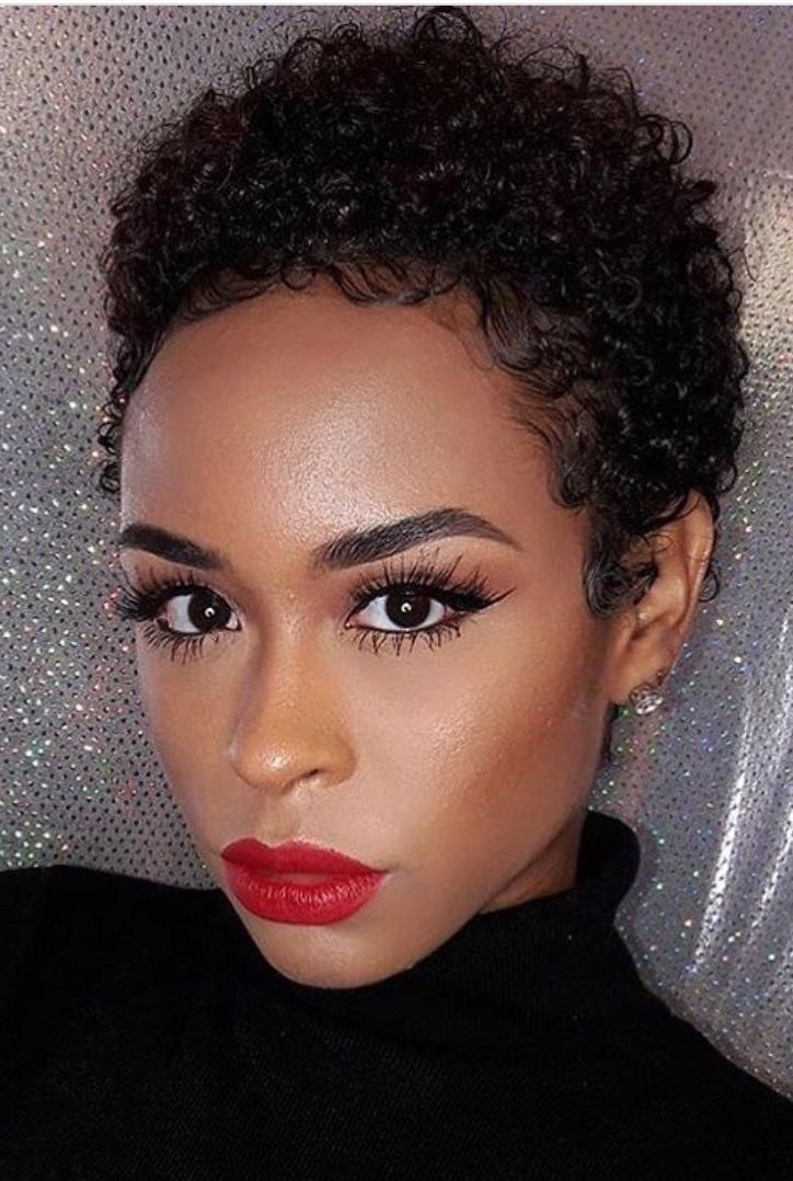 2019 Popular Afro Short Haircuts