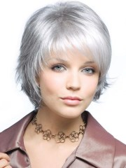 collection of gray short hairstyles