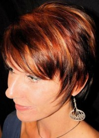 Short Red Haircuts With Highlights - Haircuts Models Ideas