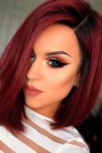 20 Collection of Bright Red Short Hairstyles