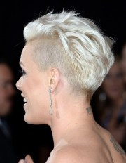 collection of pink short haircuts