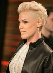 ideas of pink short hairstyles