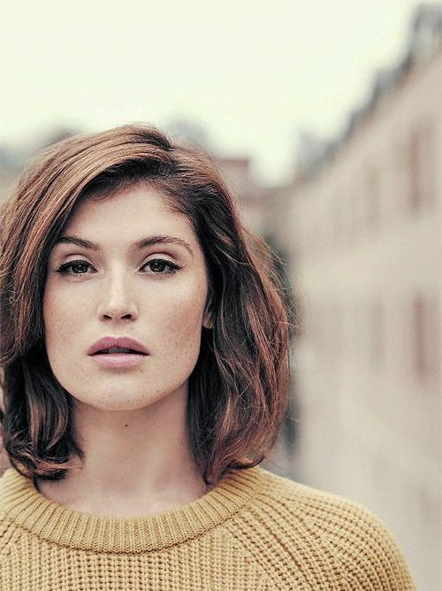 20 Best Collection of Short Haircuts For Small Foreheads