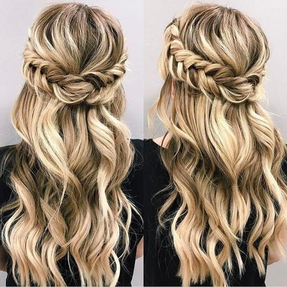 20 Ideas of Half Up Long Hairstyles