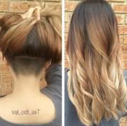 2019 popular undercut long hairstyles