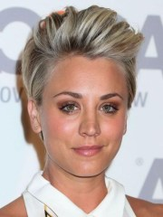 of kaley cuoco short hairstyles