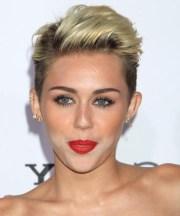 of miley cyrus short haircuts
