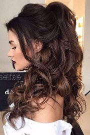 of long hairstyle prom