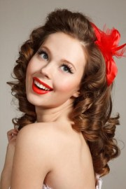 ideas of 50s long hairstyles