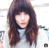 20 Best Collection of Full Fringe Long Hairstyles