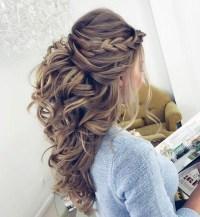 20 Ideas of Wedding Half Up Long Hairstyles