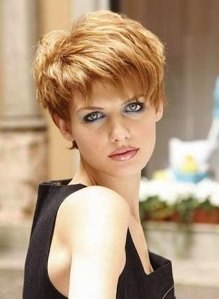 Short Choppy Pixie Hairstyles 2018