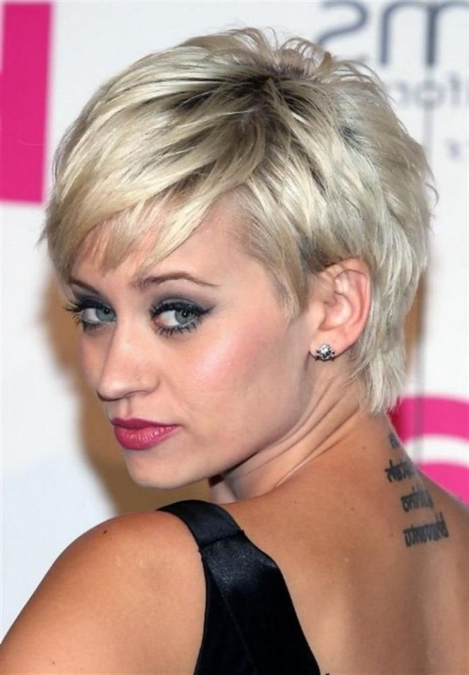 Haircut For Round Face Thick Hair Lovely 55 Alluring Short Haircuts