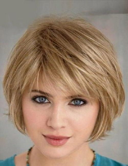 Image Result For Best Short Haircuts For Fat Women Hairstyles For