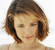 short haircuts with wispy bangs