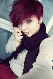 inspirations of shaggy emo hairstyles