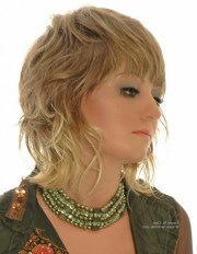 collection of shaggy wavy hairstyles