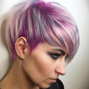 inspirations of pink short pixie