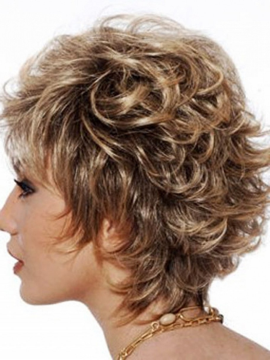 15 Best of Shaggy Hairstyles For Curly Hair