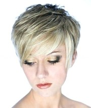 collection of short pixie haircuts