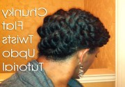 collection of chunky twist updo