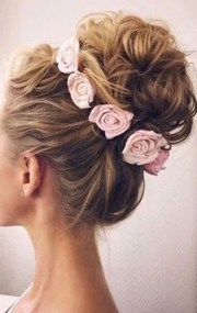 of high updo hairstyles