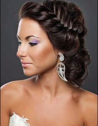 2018 Latest Updo Hairstyles For Black Hair Weddings