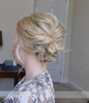 collection of messy updo