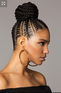 15 Best Ideas of Braided Bun Updo African American Hairstyles