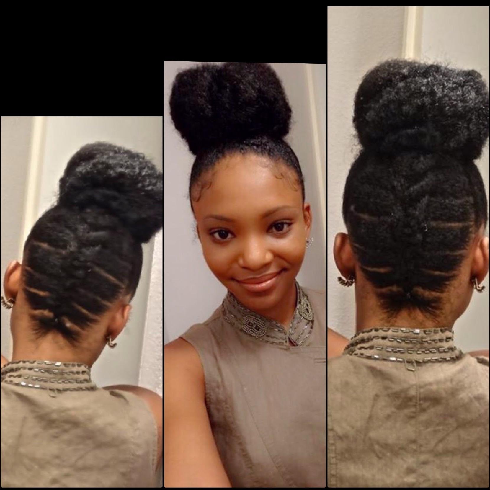 Best Solutions Of Cornrow Updo Hairstyles For Black Women Fancy Regarding Cornrow Updo Hairstyles For Black Women (View 3 of 15)