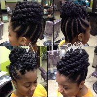 15 Photo of Braided Updo Hairstyles For Black Women
