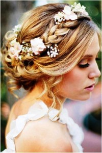15 Best Ideas of Wedding Updos Shoulder Length Hairstyles