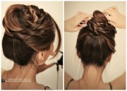2019 popular quick and easy updo