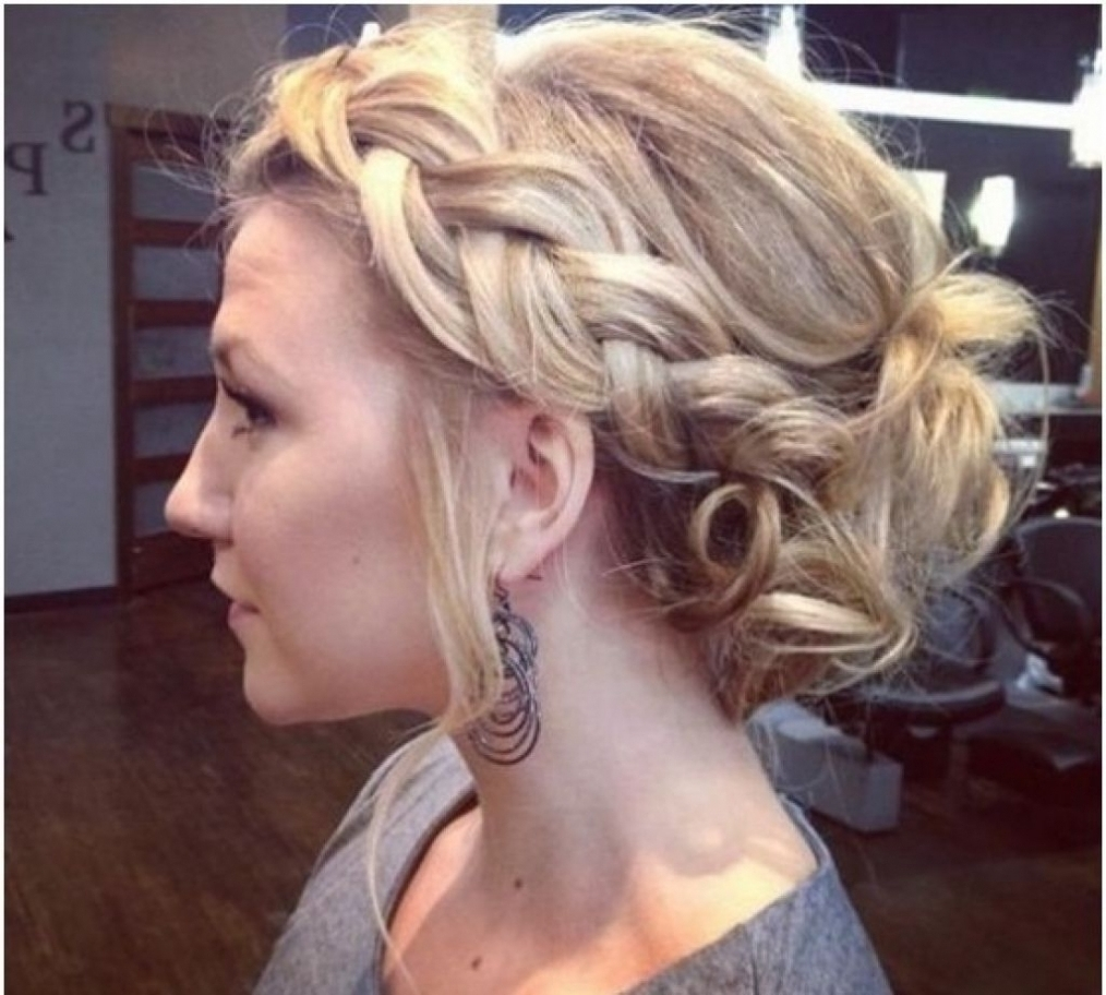 15 Best Ideas of Loose Curly Updo Hairstyles