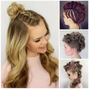 collection of everyday updo