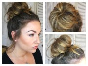 collection of easy updo hairstyles