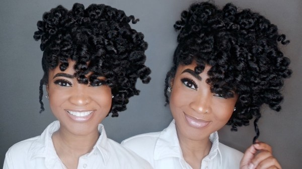 30 Twist Out Updo Hairstyles Hairstyles Ideas Walk The Falls