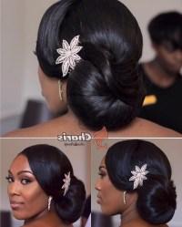 15 Best Ideas of Black Hair Updos For Weddings