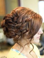 of braided bun updo hairstyles
